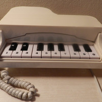 Vintage Piano Phone by kitchenkueen on Etsy