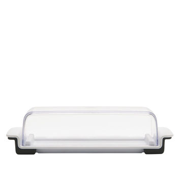 OXO Good Grips Butter Dish White/Clear Set of 1