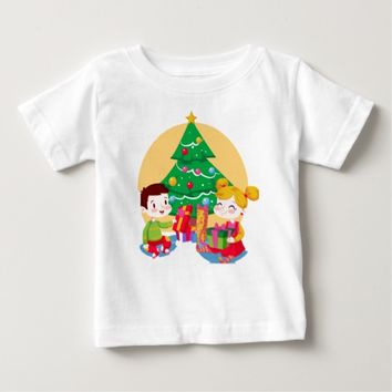 Happy Children Baby T-Shirt
