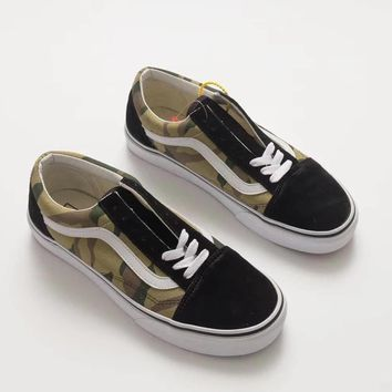 Vans Old Skool (Wooland Camo) Low-top Sneaker