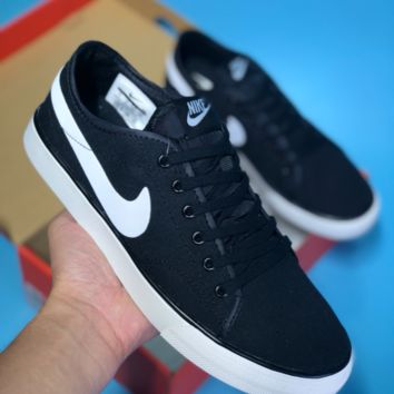 DCCK N383 Nike Primo Court Canvas Skate Shoe Black