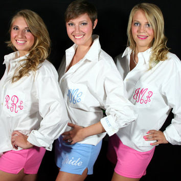 Personalized Soffe Shorts for Bridesmaids  Monogram by shopmemento