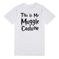 this is my muggle costume halloween harry potter shirt