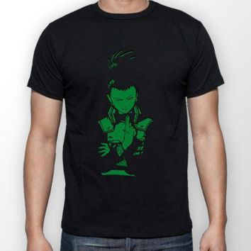 Naruto Sasauke ninja Shikamaru Nara  Anime Manga Unisex Tshirt T-Shirt Tee ALL SIZES AT_81_8