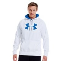 Under Armour Mens UA Storm Armour Fleece Pattern Big Logo Hoodie