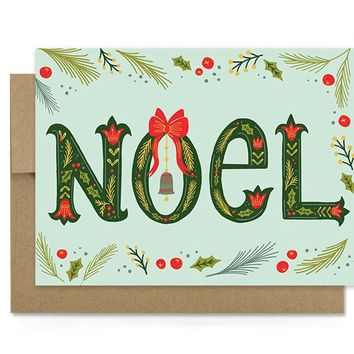 Noel - Holiday Card