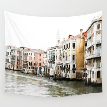 Venice Wall Tapestry - Italy Photography - Venice Tapestry - Grand Canal Venice - Wall Decor - Venice Wall Art - Italy Wall Art - Venice