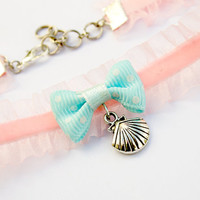 Pastel Mermaid Choker