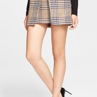 Rachel Zoe 'August' Short Plaid
