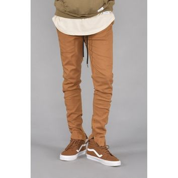 Rich V. 4 Joggers w/ Ankle Zip (Camel)