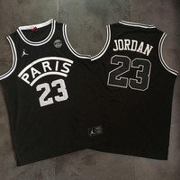 Paris Saint Germain 23 Jordan Basketball Jersey