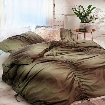 Gathered Duvet Cover | Urban Outfitters