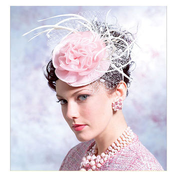 VOGUE HAT PATTERN 6 1940s 1950s Style Millinery Fascinator Hat Patterns All Sizes Vintage Style Accessories UNCuT Vogue 8052 Sewing Patterns