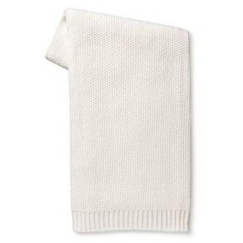 Solid Sweater Knit Throw Blanket - Cream - Threshold™ : Target