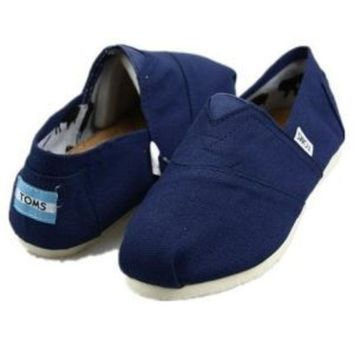 ESBONQK TOMS UNISEX FLAT SHOES CLASSICS FLAT TOMS SHOES