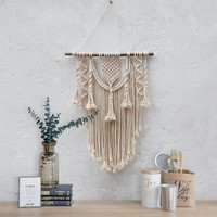 Hand woven Macrame wall hanging tapestry room decor