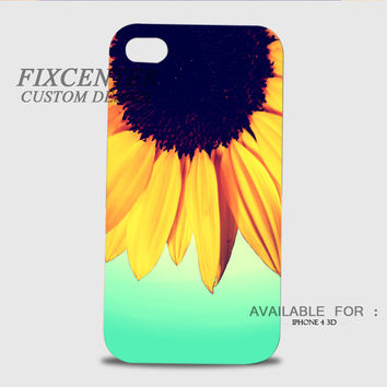 Sunflower Mirror 3D Cases for iPhone 4,4S, iPhone 5,5S, iPhone 5C, iPhone 6, iPhone 6 Plus, iPod 4, iPod 5, Samsung Galaxy Note 4, Galaxy S3, Galaxy S4, Galaxy S5, BlackBerry Z10 phone case design