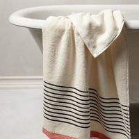 Bay Shore Towel Collection by Anthropologie Ivory