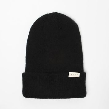 Neff Anya Fold Beanie - Womens Hat - Black - One