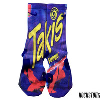 Takis Fuego Custom Nike Elite Socks ALL SIZES!!