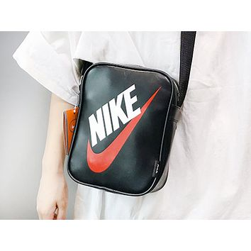 NIEK fashion hot selling lady matching color lady single shoulder shopping bag Black