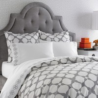 Jonathan Adler Hollywood Grey Duvet Cover or Set