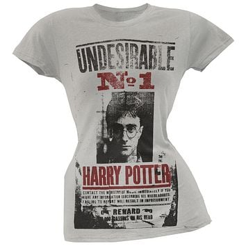 Harry Potter - Wanted Poster Juniors T-Shirt