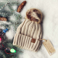 Snow Dust Cozy Beanie