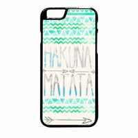 Hakuna Matata Aztec Tribal Pattern Rc iPhone 6 Plus Case