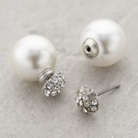 Pearl-Backed Studs by Anthropologie Pearl One Size Earrings