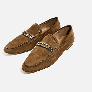 LEATHER LOAFERS DETAILS