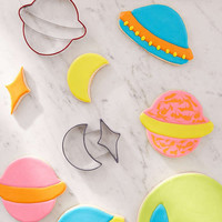 Outer Space Cookie Cutter Set | Urban Outfitters