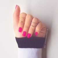 Clarissa Double Band Ring