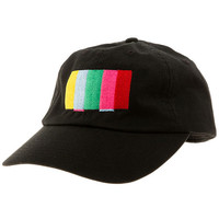 The Turn Off The TV Strapback Hat in Black
