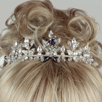 Wedding Tiara, Bridal Tiara, Scotish Thistle Tiara, Tiaras For Weddings
