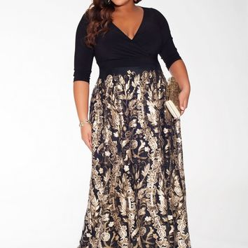 Tora Plus Size Gown