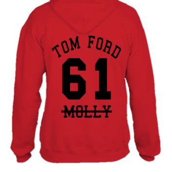 tom ford 61 molly back - UNISEX HOODIE