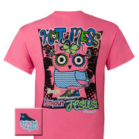 Girlie Girl Originals Hot Mess Owl Christian Bright T Shirt