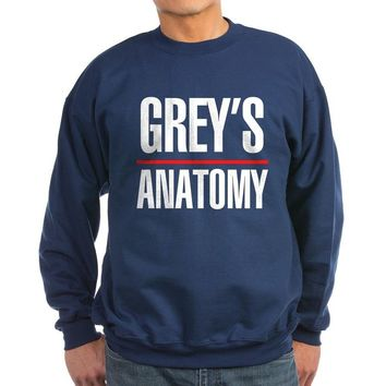 CafePress Greys Anatomy Sweatshirt dark - L Navy