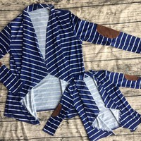 Preorder-Mommy and me Naystripes cardigan