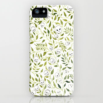 SKULL SQUARE iPhone & iPod Case by Charmaine Olivia