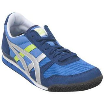 onitsuka tiger by asics ultimate 81 hn201 4393 blue blue sneaker  number 1