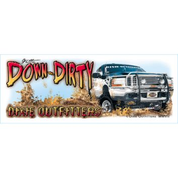 Gettin Down ~n~ Dirty Coffee Mug by Dixie Outfitters®