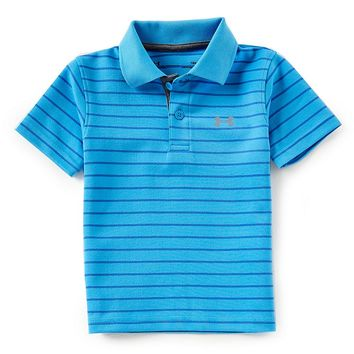 Under Armour Baby Boys 12-24 Months Short-Sleeve Stripe Match Play Polo Shirt | Dillards
