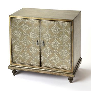 Butler Noor Champagne Console Cabinet