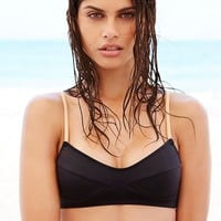 Free People Scuba Leo Bikini Top