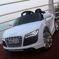 Audi four baby child electric car electric car with a remote control toy car children who can sit the baby stroller