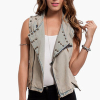 Coquette Studded Vest $42
