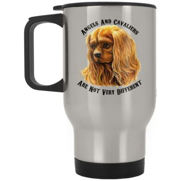 Cavalier King Charles Spaniel Ruby Red Stainless Travel Mug