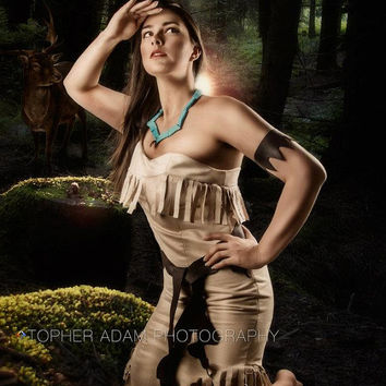Custom Pocohontas Adult Costume